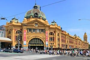 Flinders St. Station Melbourne