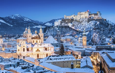 Christmas in the Austrian Tyrol, Twixmas in Vienna and New Year Cruising on the Rhine