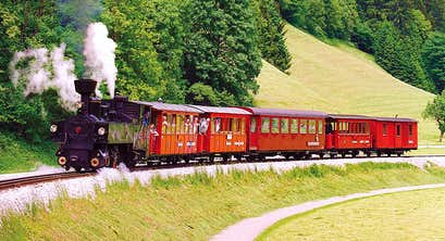 Little Trains of the Spectacular Austrian Tyrol by Air