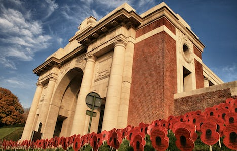 Armistice Day Anniversary in Flanders