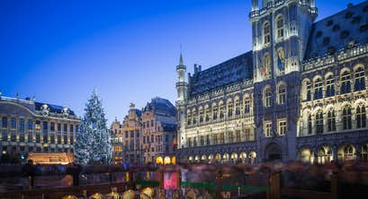 5-Star Brussels and Bruges Christmas Markets