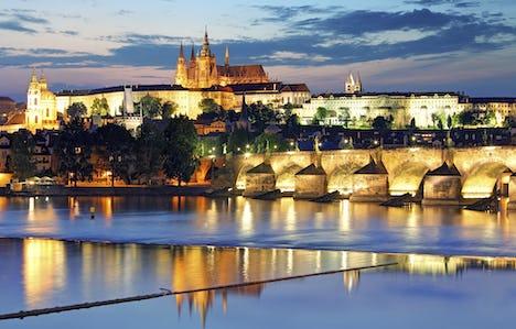 Prague by Air