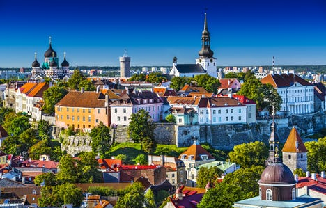 The Baltic Capitals and Highlights of Scandinavia by Air