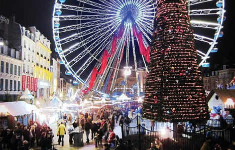 Brussels and Liege Christmas Markets