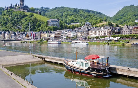The Picturesque Rhine and Moselle Valleys