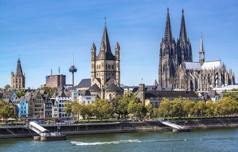 Cruising the River Rhine Germany to Switzerland