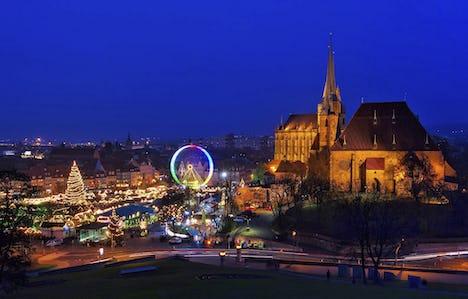Thuringia, Erfurt, Weimar and Wartburg Castle*