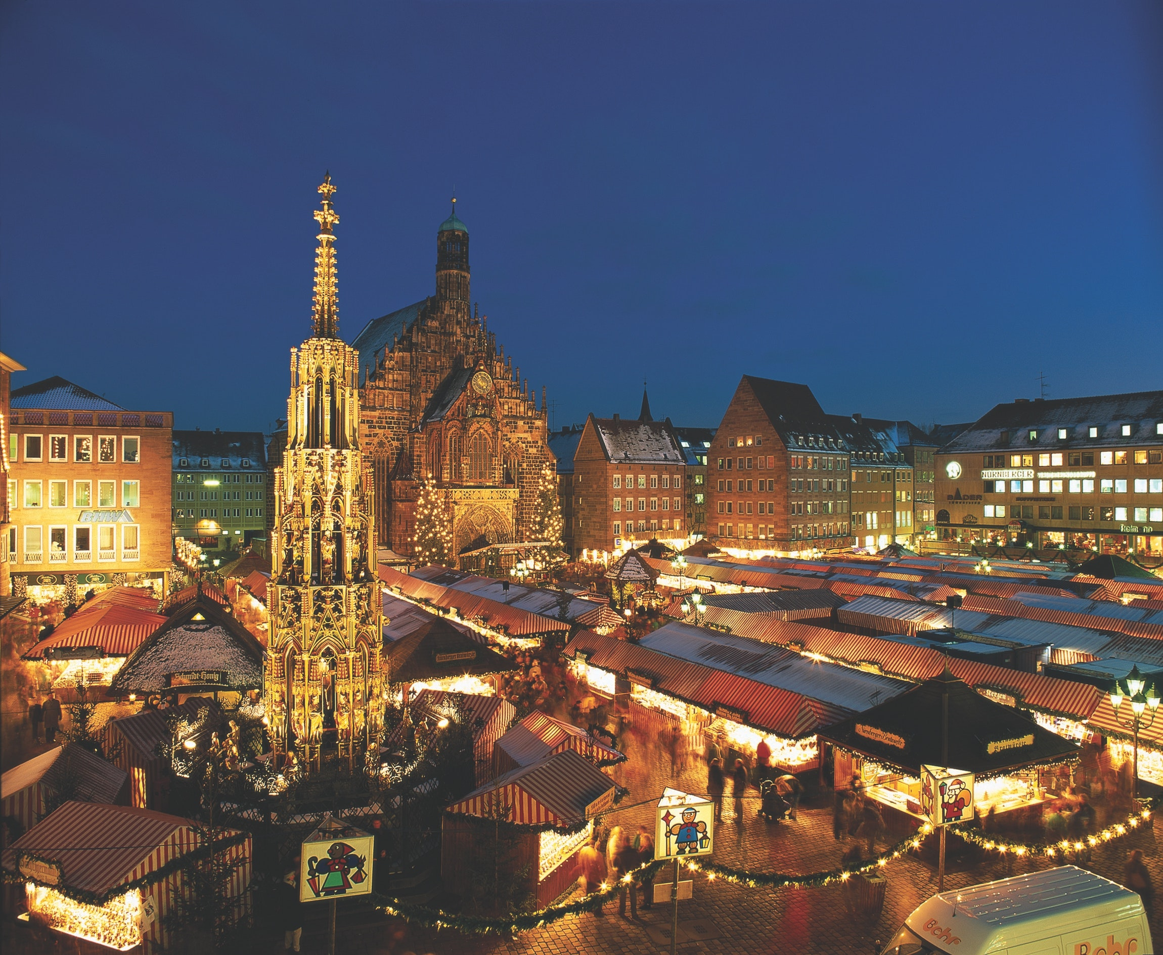 Brilliant Leger Coach Holidays Christmas Markets Movement And Meaning Easy Diy Christmas Decorations Tissureus