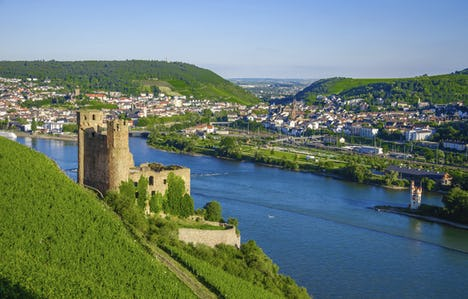 The Rhineland and Austrian Tyrol for Single Travellers