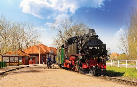 Little Trains, Paddle Steamers and Grand Palaces of Saxony