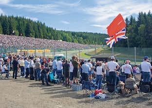 Belgian Grand Prix by Coach