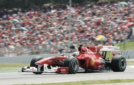 Italian Grand Prix by air