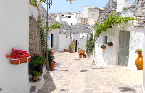 The Delights of Puglia by Air