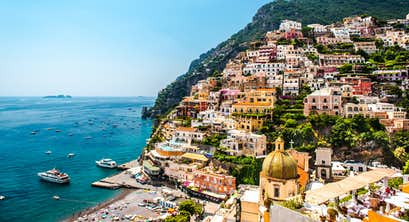Coastal Cruising along the Amalfi Coast, the Aeolian Islands, Sicily & Calabria