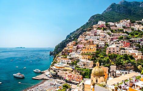 Coastal Cruising along the Amalfi Coast, the Aeolian Islands, Sicily & Calabria