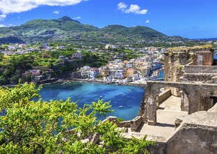 The Beautiful Islands of Ischia & Capri plus Rome, Sorrento & the Amalfi Coast by Air