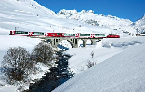 Bavarian Castles Winter Wonderland and the Swiss Glacier Express