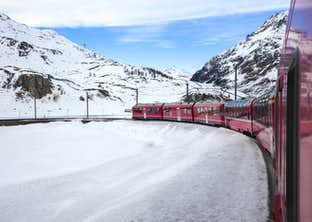 Bavarian Castles Winter Wonderland & the Swiss Glacier Express