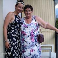 Mrs Cooper & Granddaughter