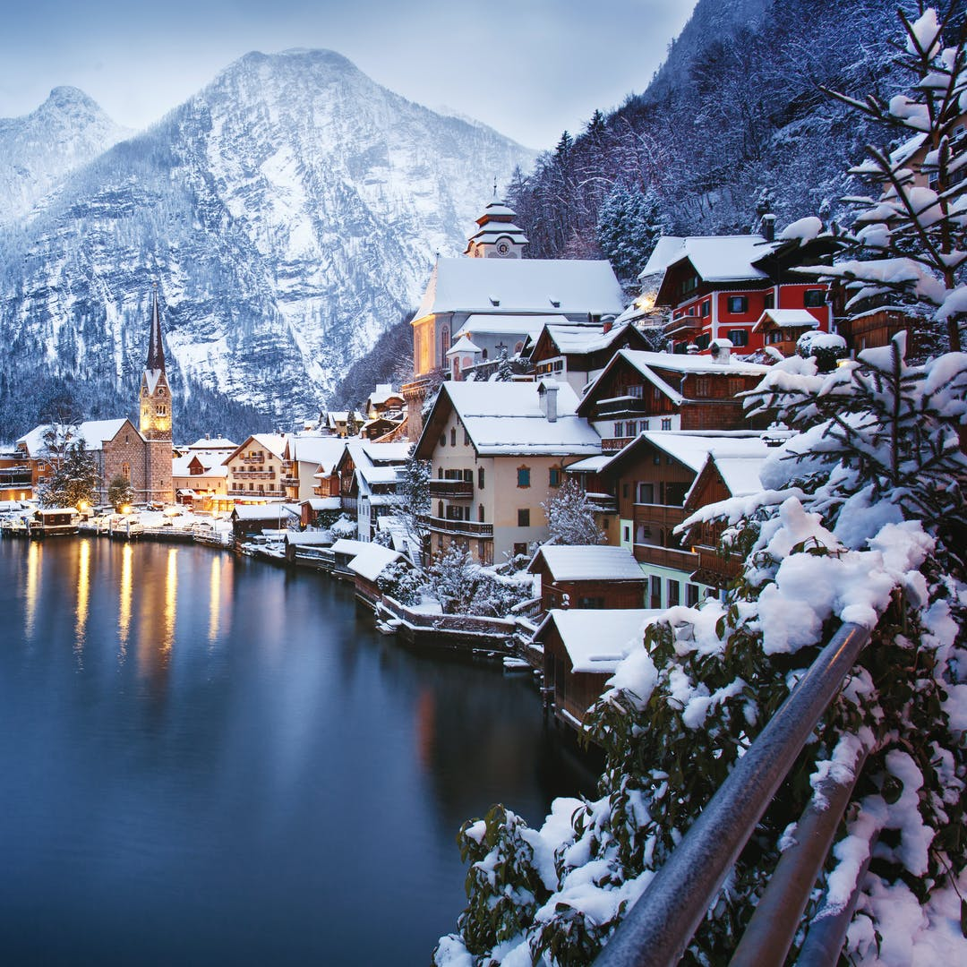 Christmas In Austria.Christmas Spectacular In Austria Scenic Trains Of The Tyrol