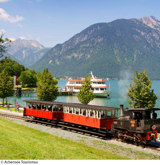 Little Trains of the Spectacular Austrian Tyrol