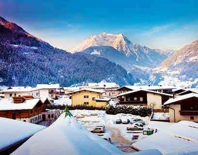Christmas in Austria, New Year in Switzerland