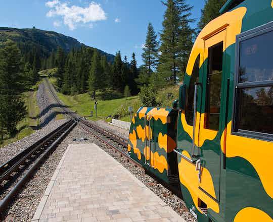 Schneebergbahn Train Ride