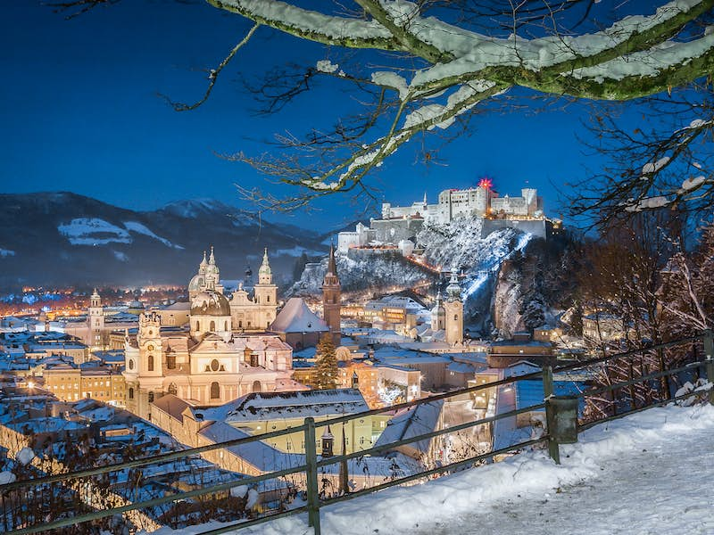 Christmas In Austria.4 Star Fairy Tale Christmas In Austria 8 Day Tour