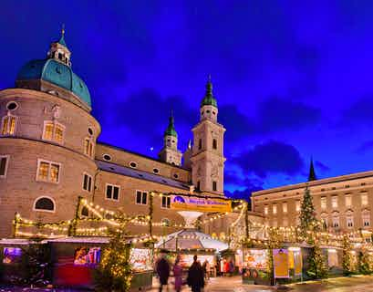 Festive Salzburg, Munich & Innsbruck Christmas Markets