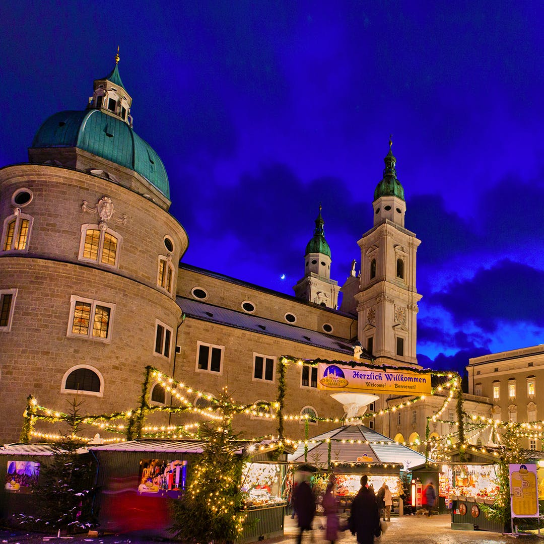 Salzburg Christmas Market Map.Festive Salzburg Munich Innsbruck Christmas Markets