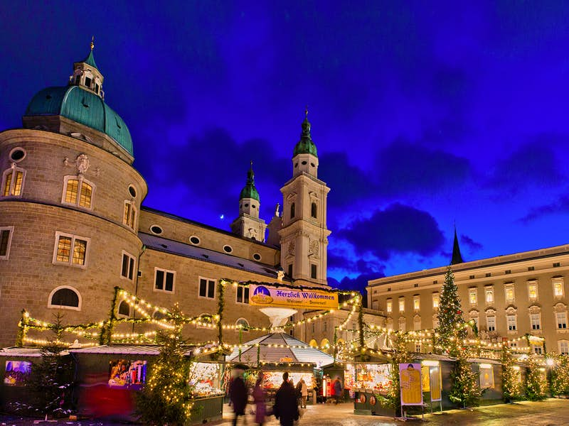 Salzburg Christmas Market.Festive Salzburg Munich Innsbruck Christmas Markets 7 Day Tour
