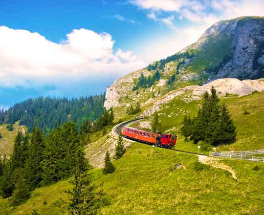 Schafberg Steam Cog Train