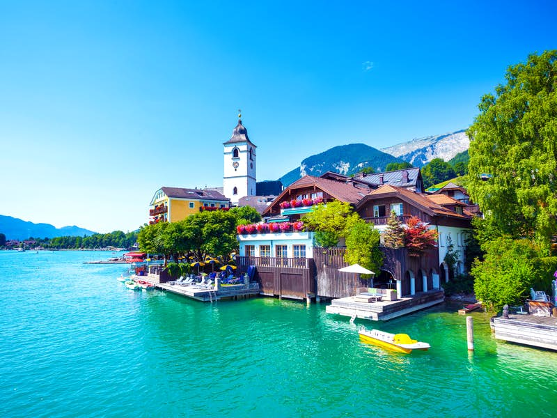 New year in the austrian lakes salzburg tour leger holidays st wolfgang sciox Images