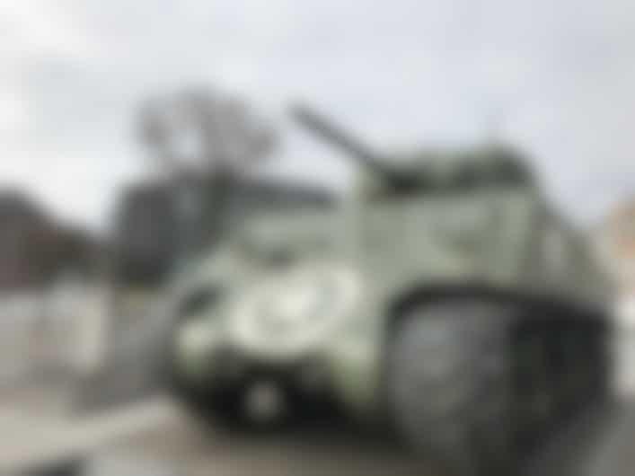 Bastogne Sherman Tank