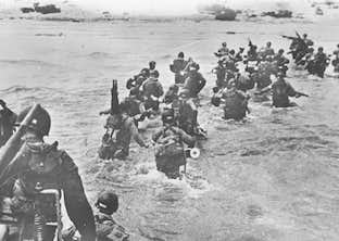 D-Day Landings in Normandy