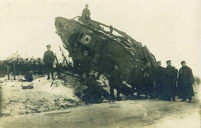 British tank at Cambrai