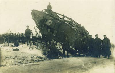 British tank at Cambrai