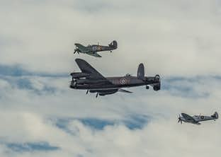 Jersey – Occupation and Liberation & the Battle of Britain Air Display by Air
