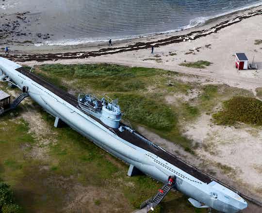 U995 U Boat at Kiel