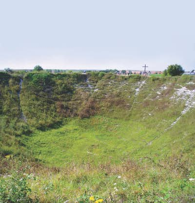 Lochnagar Mine crater