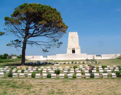 Gallipoli Battlefields by Air