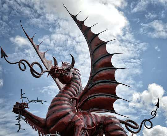 Mametz Wood, Welsh Memorial