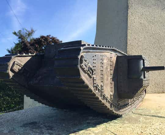 Pozieres Tank Memorial