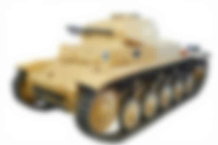 German Panzer II at Russian Tank Museum
