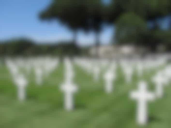 Sicily Rome American Cemetery, Anzio