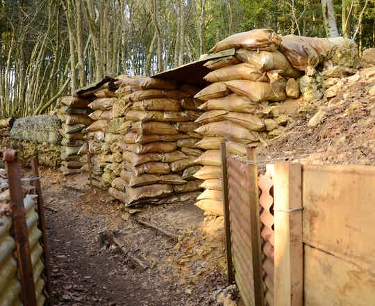 Trenches at St Mihiel Salient
