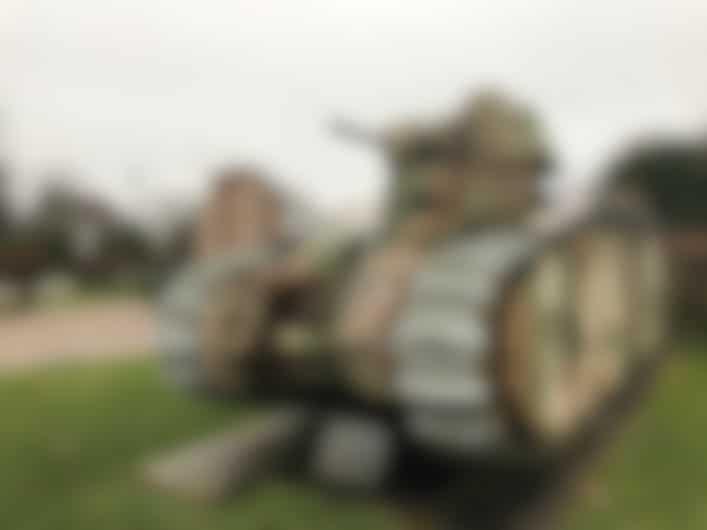 CharB Tank, Stonne