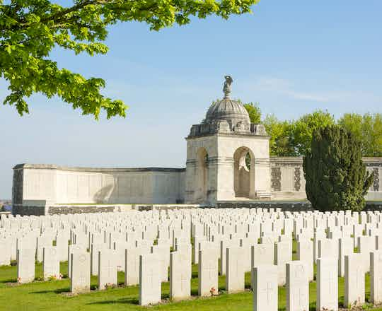 Tyne Cot Commonwealth Memorial near Ypres