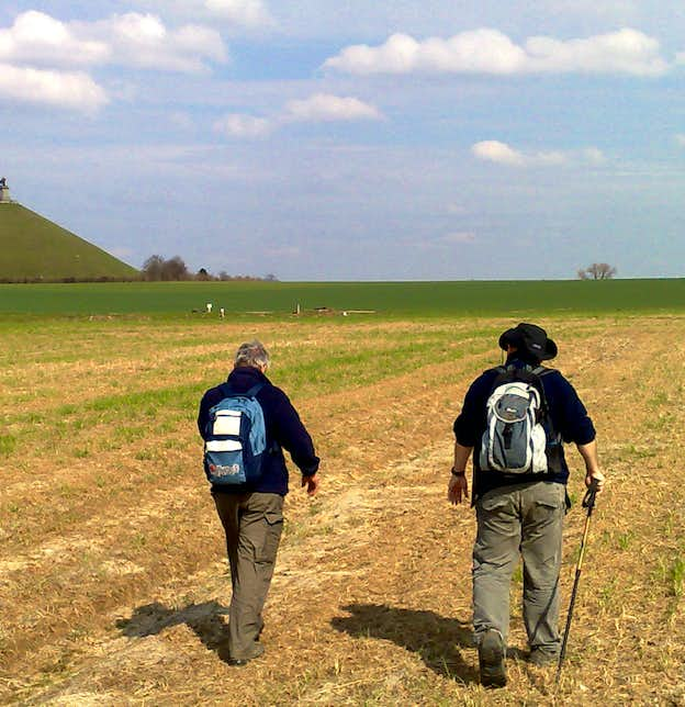 Walking the Waterloo Battlefields