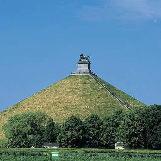 Lion's Mound at battlefield of Waterloo